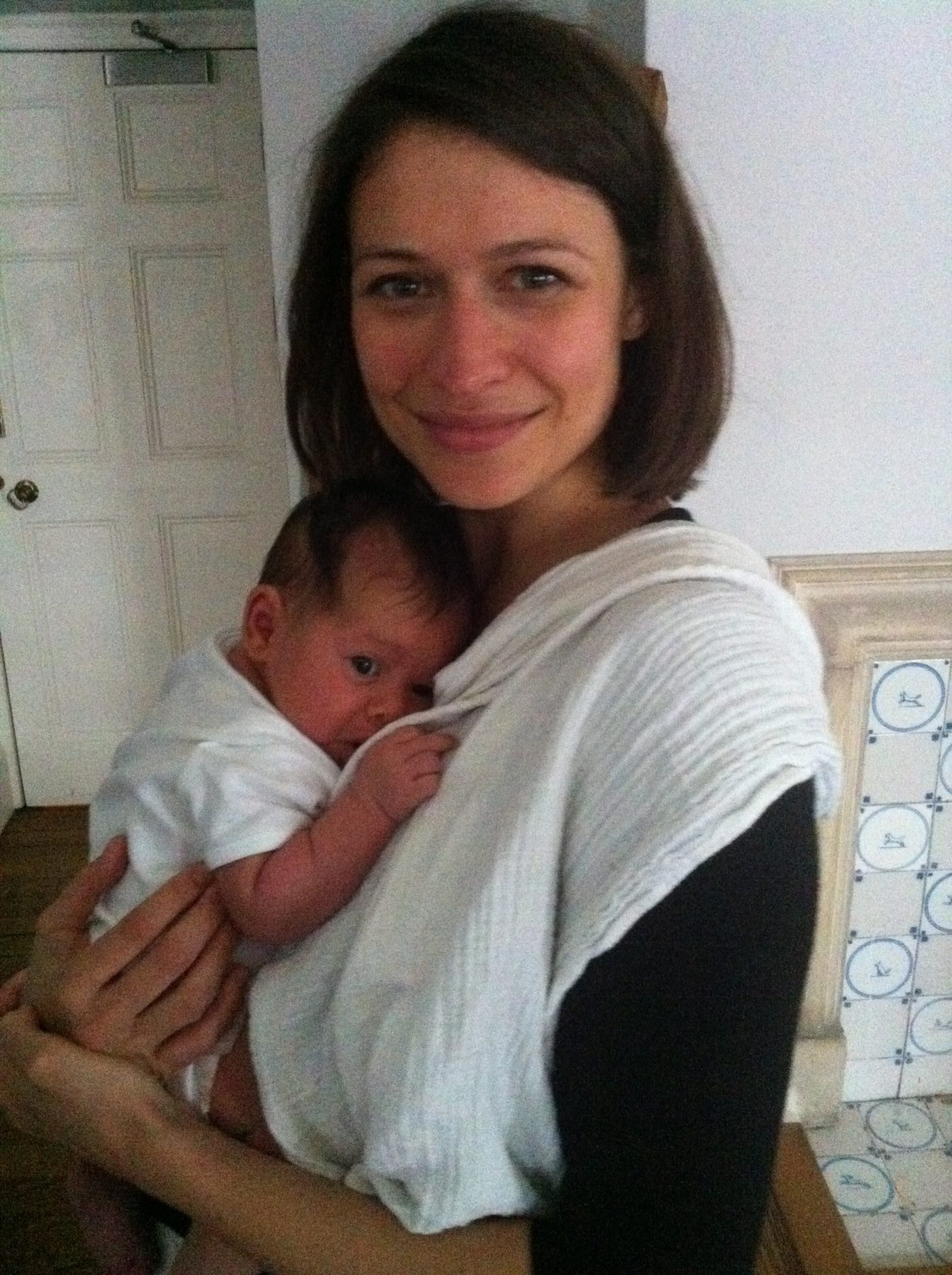 Natalie and Ned born at home